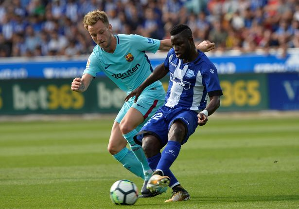 Mubarak Wakaso to play under veteran Italian coach Gianna Biasi at Deportivo Alaves