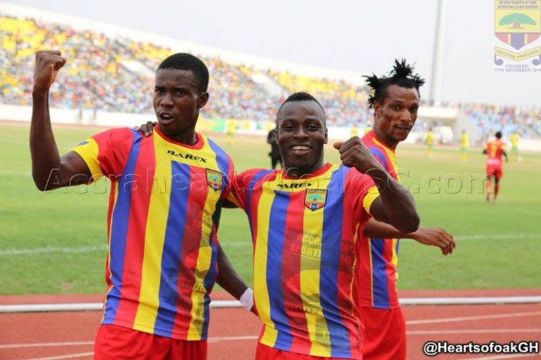South African side Cape Town City plot double swoop for Hearts of Oak duo Patrick Razak and Thomas Abbey