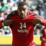 Video: Watch Kevin-Prince Boateng's winning goal for Eintracht Frankfurt against Borussia Mönchengladbach