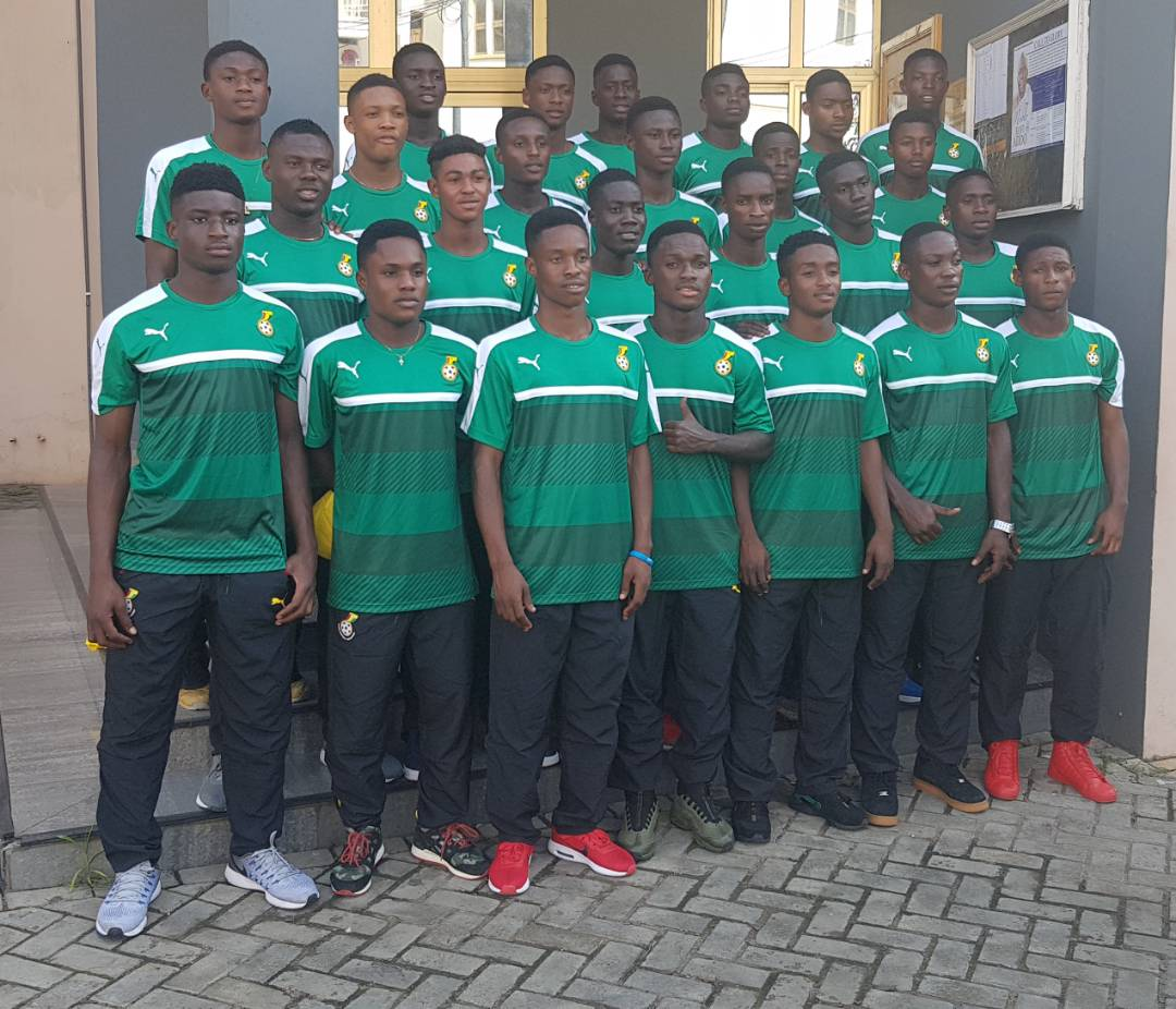 Ghana U17 to leave for Abu Dhabi training camp on Wednesday