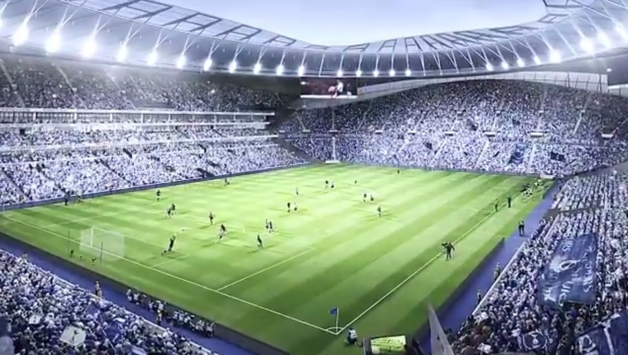 VIDEO: Spurs Unveil Plans for World's First Dividing Retractable Pitch at New Stadium