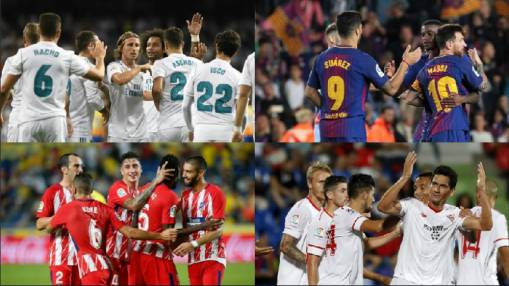 Real Madrid Barcelona Atletico And Sevilla Kick Off Their Champions League Campaigns Ghana Latest Football News Live Scores Results Ghanasoccernet