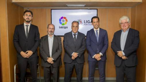 LaLiga & Liga Portugal to work together to promote the internationalisation of both brands