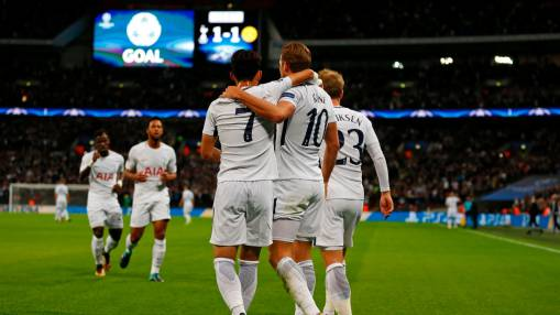 Kane, Son lead Spurs' stellar UCL start