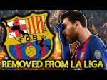 BREAKING: Barcelona To Be KICKED OUT Of La Liga?! | #VFN