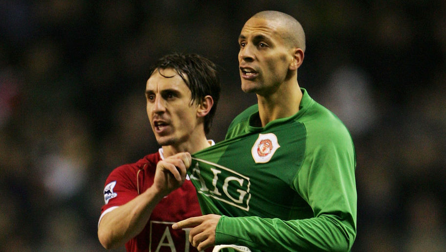 Gary Neville Trolls Ex-Man Utd Teammate Rio Ferdinand After He Launches Boxing Career