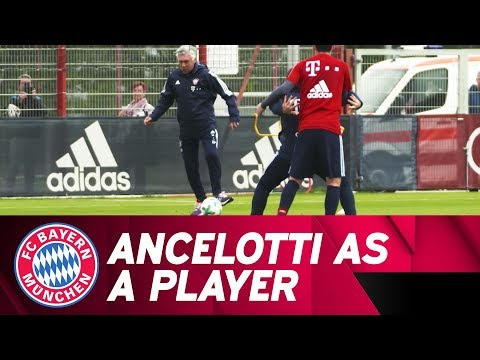 Carlo Ancelotti shows his players' qualities