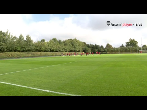 LIVE: Join us at London Colney for Arsenal training