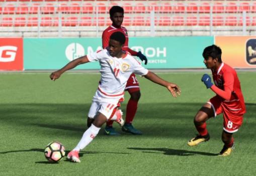AFC U-16 Championship 2018 Qualifiers Group B: Oman 8-0 Maldives