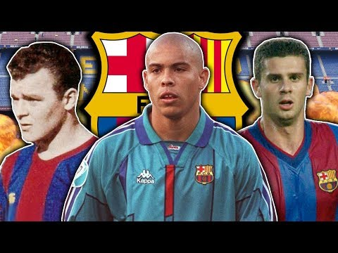 10 Players You Forgot Played For Barcelona | Ronaldo, Motta & Di Stefano