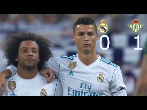 Real Madrid vs Real Betis 0-1 All Goals & Highlights HD 20/09/2017