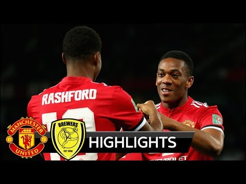 Manchester United vs Burton Albion 4-1 - All Goals & Extended Highlights - 20/09/2017 HD
