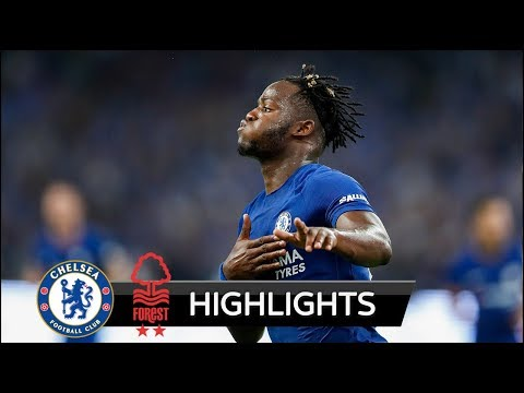 Chelsea vs Nottingham Forest 5-1 - All Goals & Highlights - Carabao Cup 20/09/2017 HD