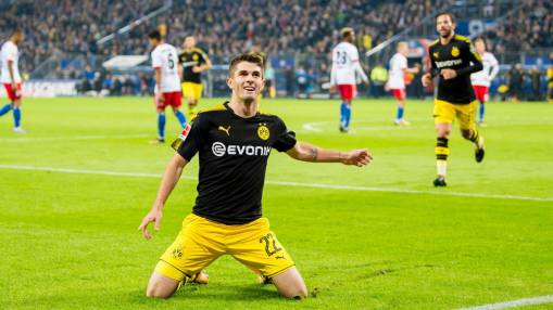 Christian Pulisic not surprised by Borussia Dortmund's balanced attack