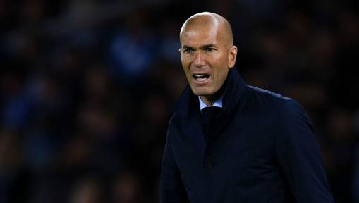 Real Boss Zidane Calls for Calm Over Wretched Home League Form Following Shock Betis Loss