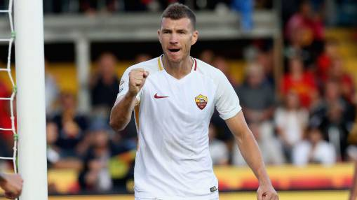 Roma's Edin Dzeko: 'I feel good' in Eusebio Di Francesco's new system
