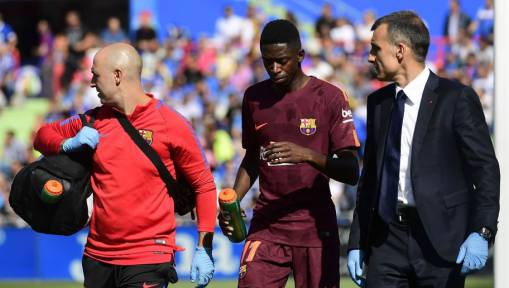 Barcelona Star Dembele Drops Huge Hint About Potentially Early Return From Injury on Social Media