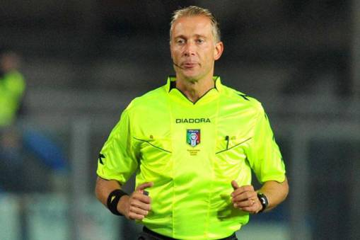 SERIE A TIM, THE 6TH ROUND'S REFEREES