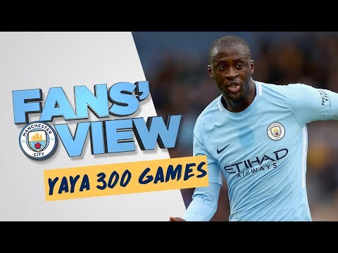 YAYA TOURE 300 APPEARANCES | Fans' View