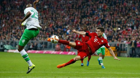 Lewandowski lightning to strike twice? Can Robert Lewandowski repeat his five-goal feat against Wolfsburg two years to the Matchday? vor 2 Stunden
