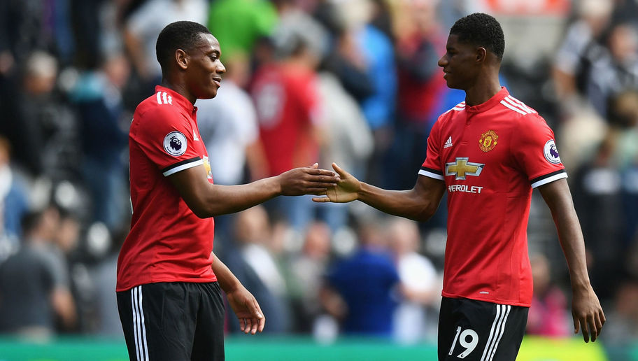 Marcus Rashford Reveals Reason Behind His & Anthony Martial's Improved Man Utd Form