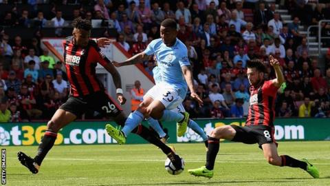 Tyrone Mings: Back injury rules Bournemouth defender out for a month