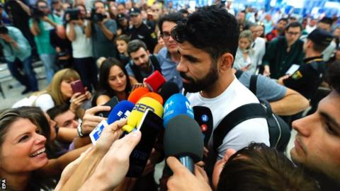 Diego Costa: Striker says he will always have a 'special affection' for Chelsea