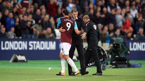 West Ham's Slaven Bilic: This is Andy Carroll's 'season to be fit'