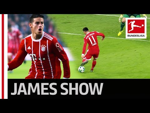 James Rodriguez Scores His First Goal for Bayern - Welcome to the Bundesliga