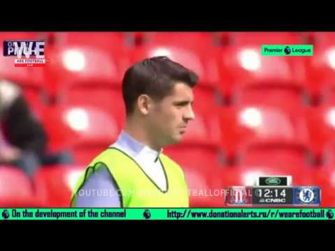 ALVARO MORATA VS STOKE CITY | KICKOFF LIVE | ON THE PITCH