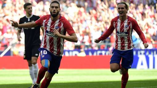 Carrasco, Griezmann net as Atletico Madrid see off Sevilla