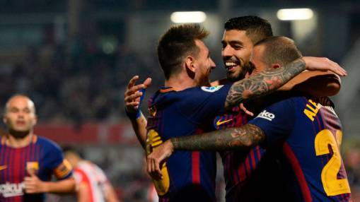 Lionel Messi unusually quiet but Barca see off new Catalan rivals Girona