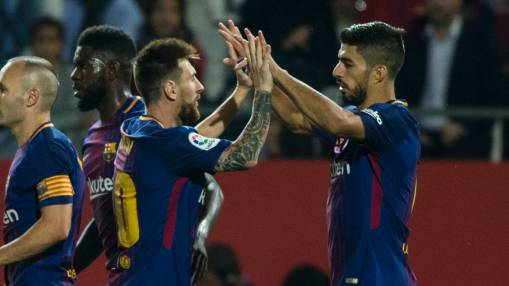 Girona man-marking Lionel Messi helped Barca win - Ernesto Valverde