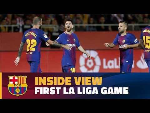 [BEHIND THE SCENES] Inside view of the first La Liga match in Girona