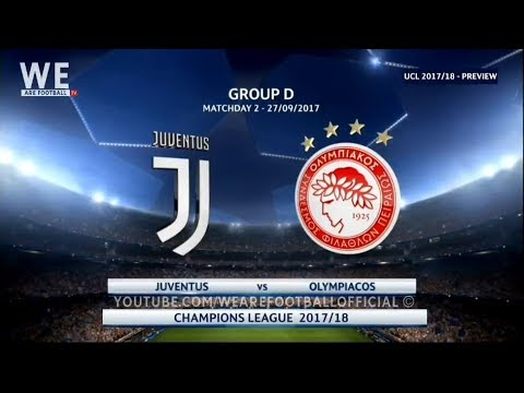 Juventus Vs Olympiacos Preview  Ucl