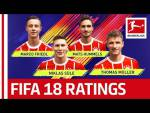 EA SPORTS FIFA 18 - FC Bayern München Players Rate Each Other: Müller, Hummels & More