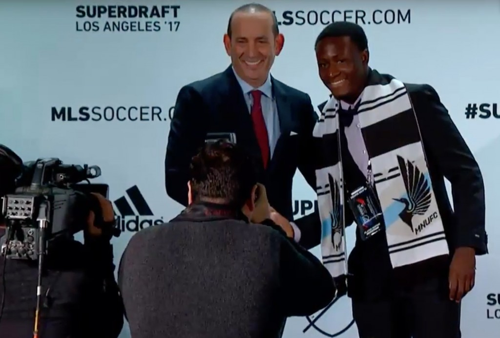 Minnesota United chief Adrian Heath happy with progress of Ghanaian kid Abu Danladi