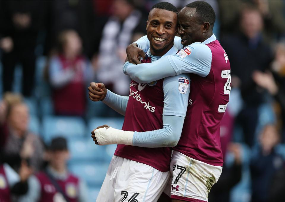 Aston Villa boss Steve Bruce hails two-goal hero Albert Adomah