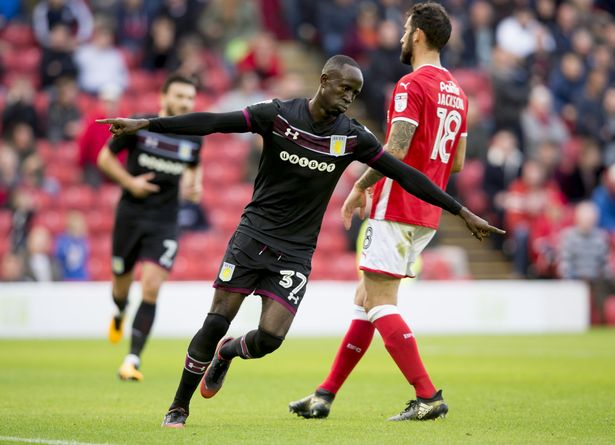In-form Albert Adomah lays down the challenge for Aston Villa team-mates