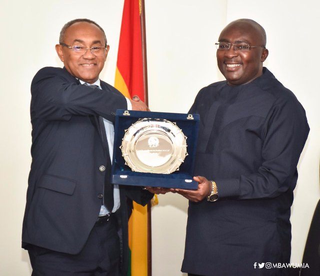 Ghana's Vice-President Dr Bawumia urges administrators to do more for football in Africa