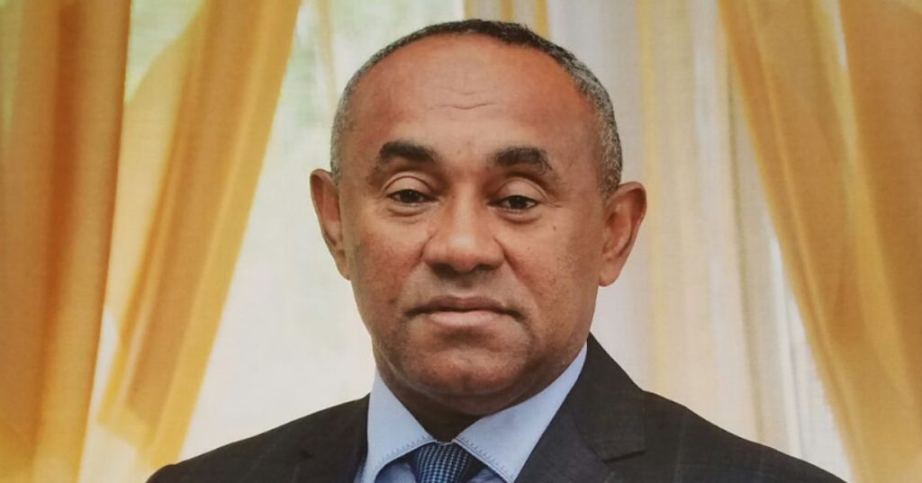 CAF President Ahmad to visit Otumfuo Osei Tutu II at Manhyia on Monday afternoon