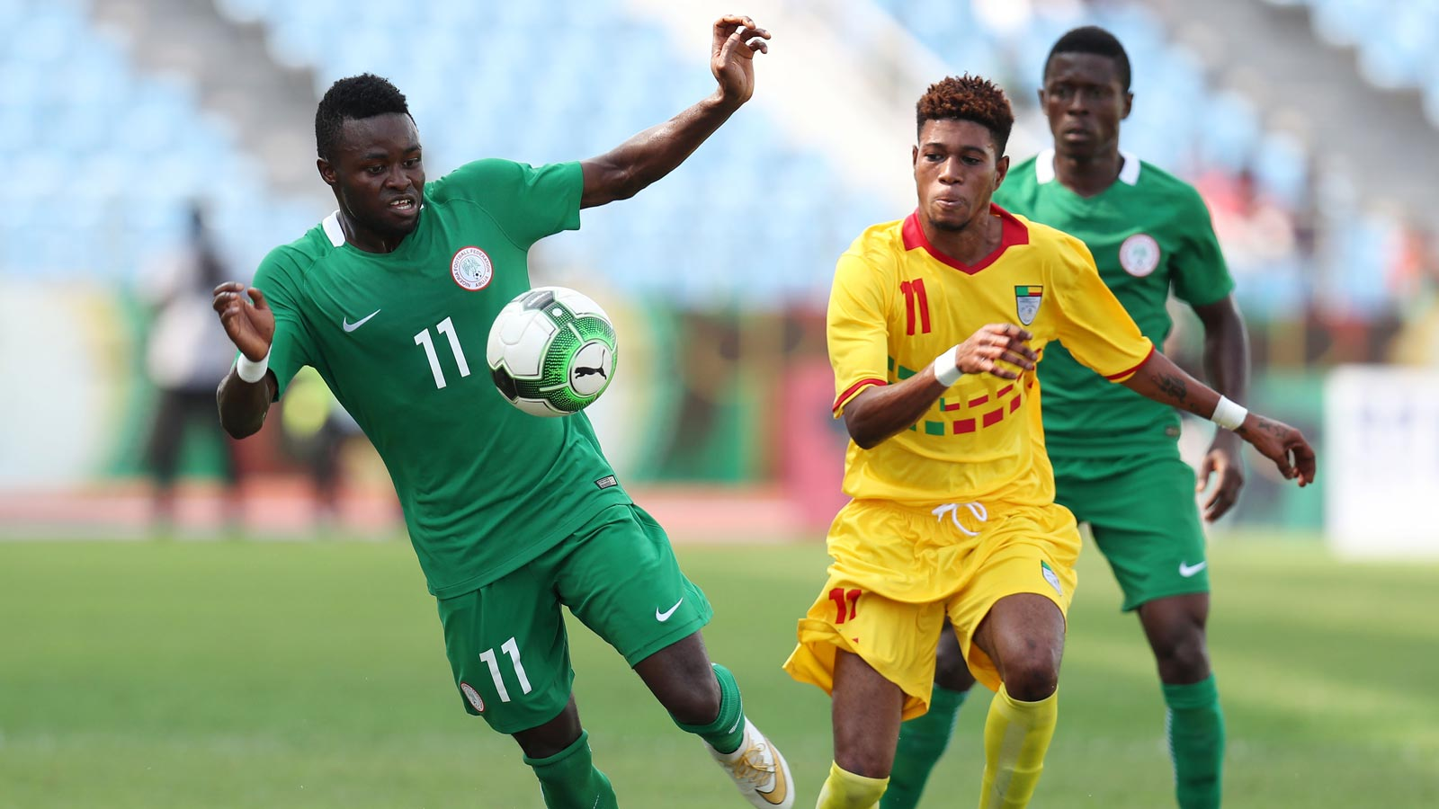 2017 WAFU Nations Cup: Rabiu Ali's solitary goal sends Nigeria into final
