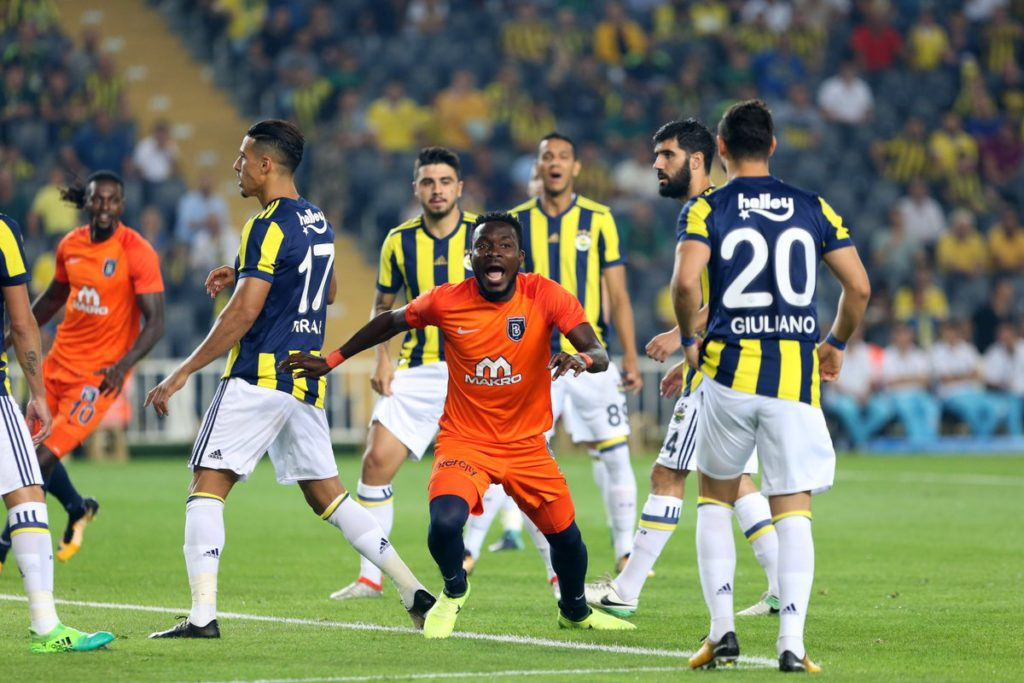 VIDEO: Ghana defender Attamah Larweh on target in Istanbul Basaksehir 5-1 heavy win over giants Galatasaray