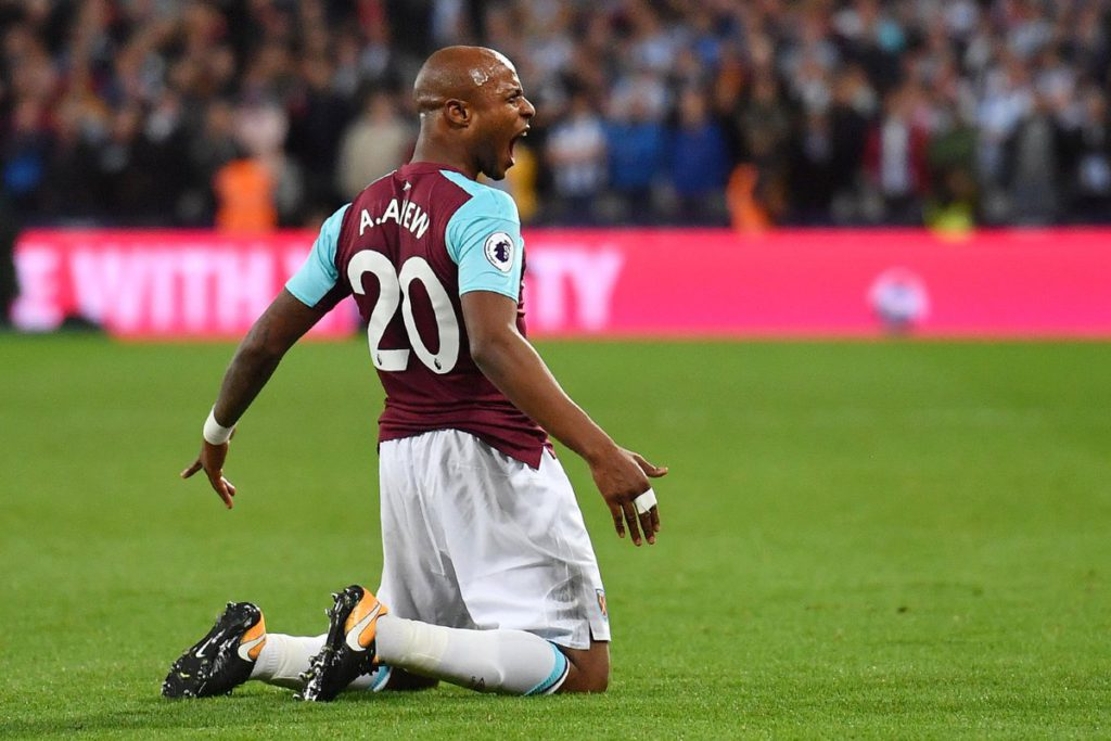 West Ham hero Andre Ayew calls for concentration ahead of West Brom clash