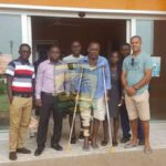 Asante Kotoko team bus driver finally leaves hospital in clutches after 70 days of fatal accident