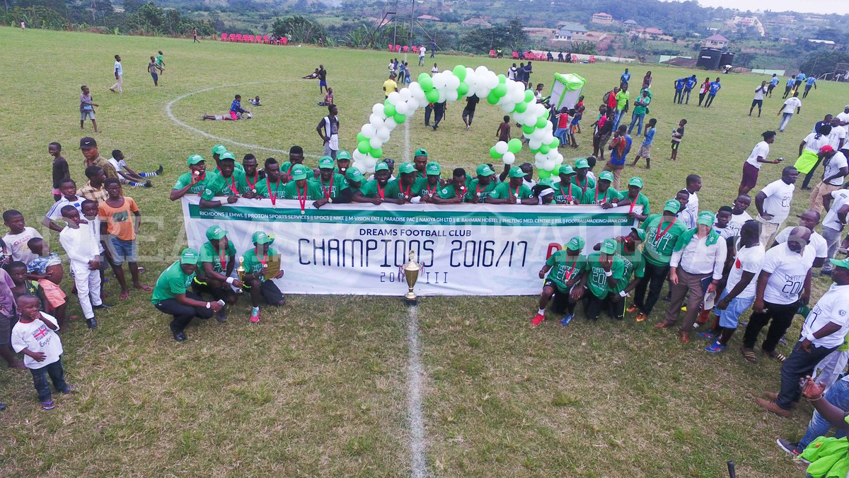 PHOTOS: Dreams FC crowned Division One League Zone III champions