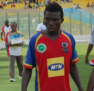 Former Hearts of Oak star Douglas Nkrumah slapped with 12-match ban in Nigeria for attacking referee
