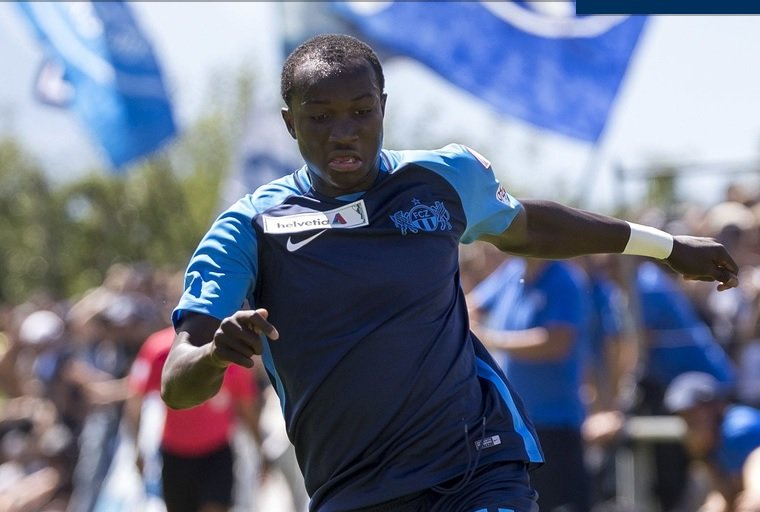 Ghana striker Raphael Dwamena makes cameo on return to action for FC Zurich after health scare