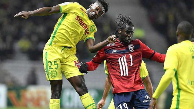 Former France youth defender Enock Kwarteng happy to make Lique I bow for Nantes this season