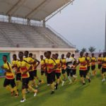 Ghana U17 hold first training session in Abu Dhabi